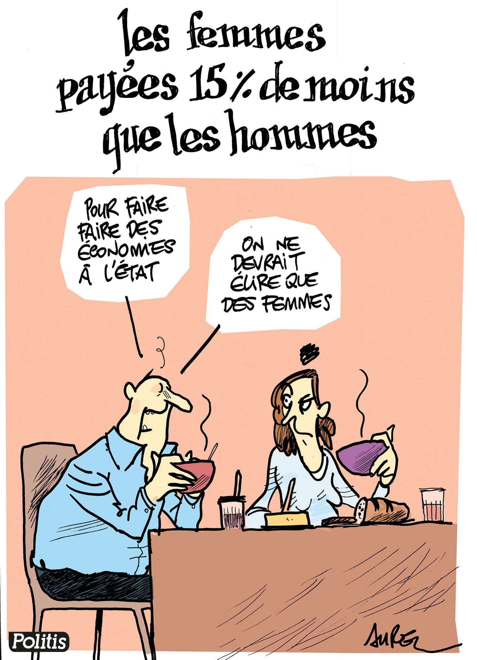 Les dessins de la semaine : Une femme à l'Élysée, Jean-Luc Mélenchon rejeté