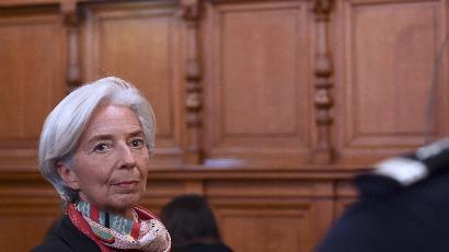Christine Lagarde, responsable mais pas coupable