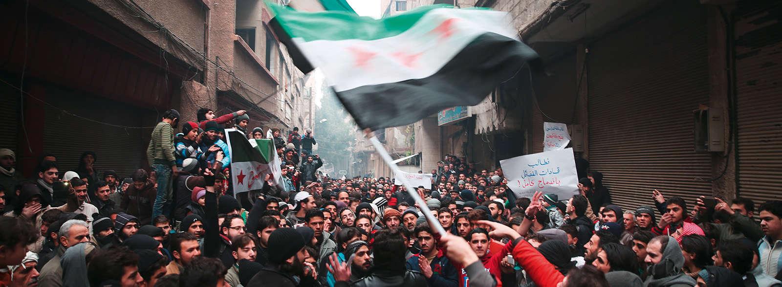 Les mille images de la guerre en Syrie