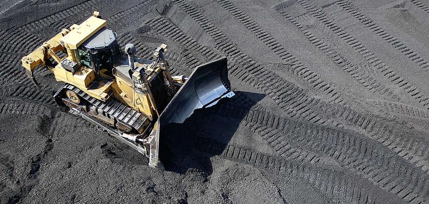 L'industrie du charbon en déclin
