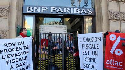 Attac contre la BNP,«la banque d'un monde qui change»