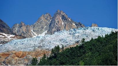 Graves menaces d'effondrement des glaciers alpins