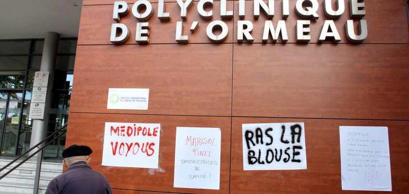 Polyclinique de Tarbes : La grève au menu du réveillon