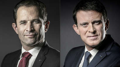 Primaire du PS : Le second tour opposera Benoît Hamon à Manuel Valls