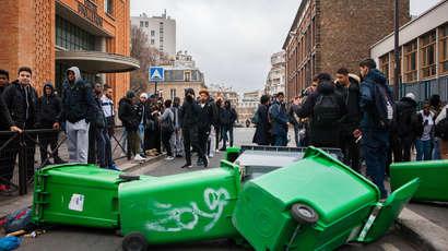 Justice pour Théo : les mobilisations lycéennes continuent
