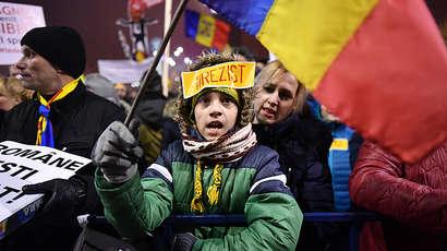 Roumanie : La mobilisation continue