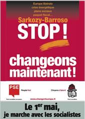 Stop Barroso! Mais c'était en mai.