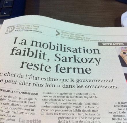 Illustration - Le Figaro pris à revers par les jeunes