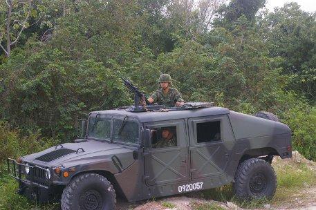 Illustration - Cancun et le climat: entre désastre touristico-écologique et présence de l'armée