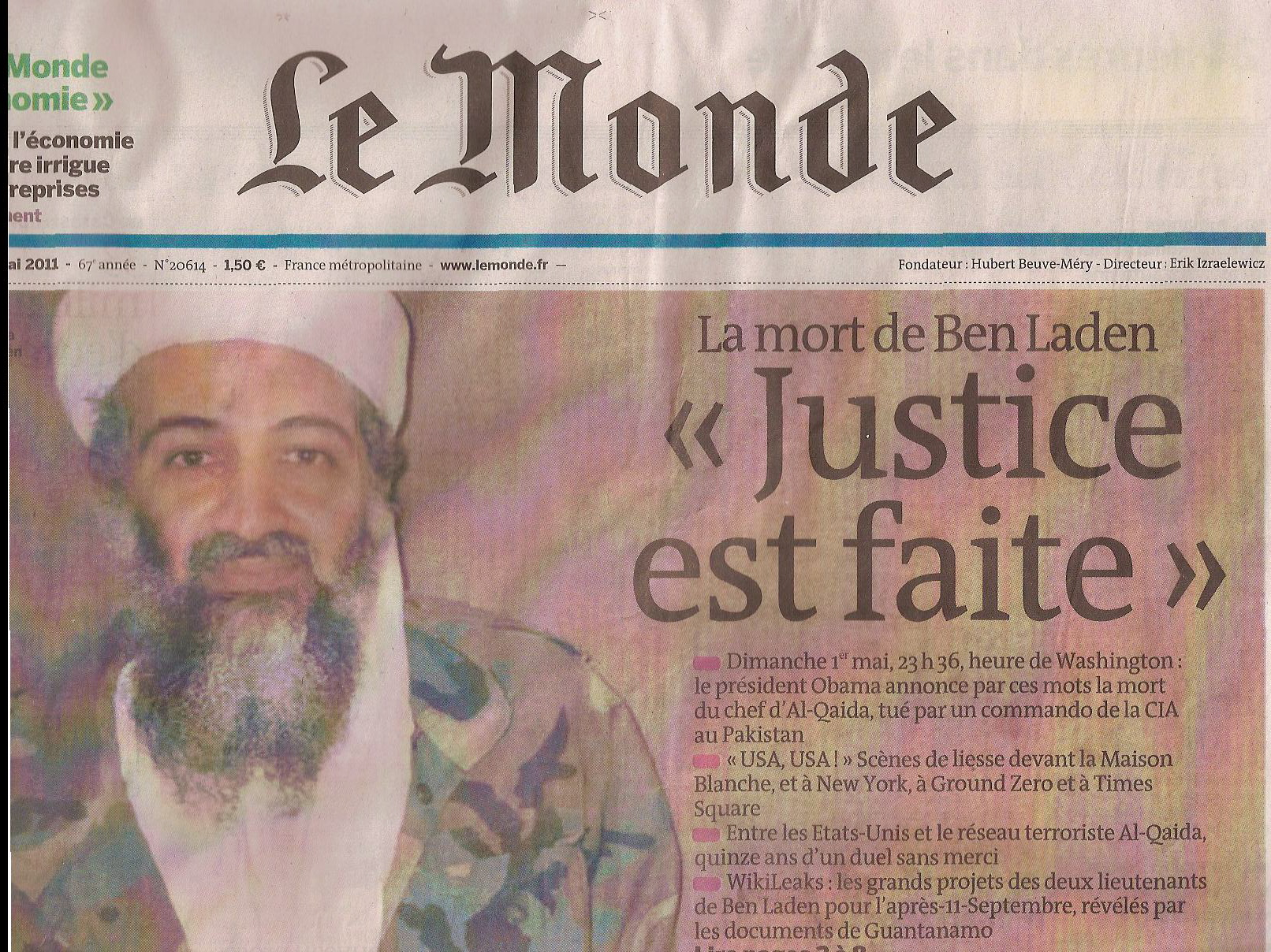 Illustration - «Justice Est Faite»