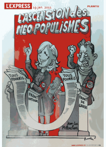 Illustration - Est-Ce Que L'Éditocratie Ne Pourrait Pas Dédiaboliser (Aussi) Mélenchon?