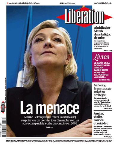 Illustration - « Libération » nous ressort la menace fantôme