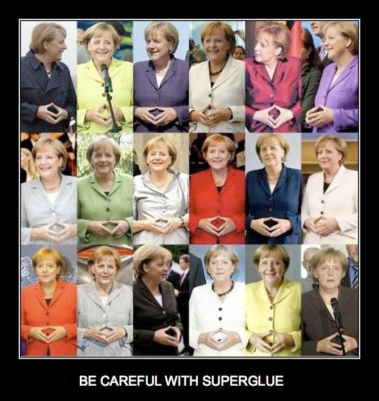 Illustration - Angela Merkel est pourtant …