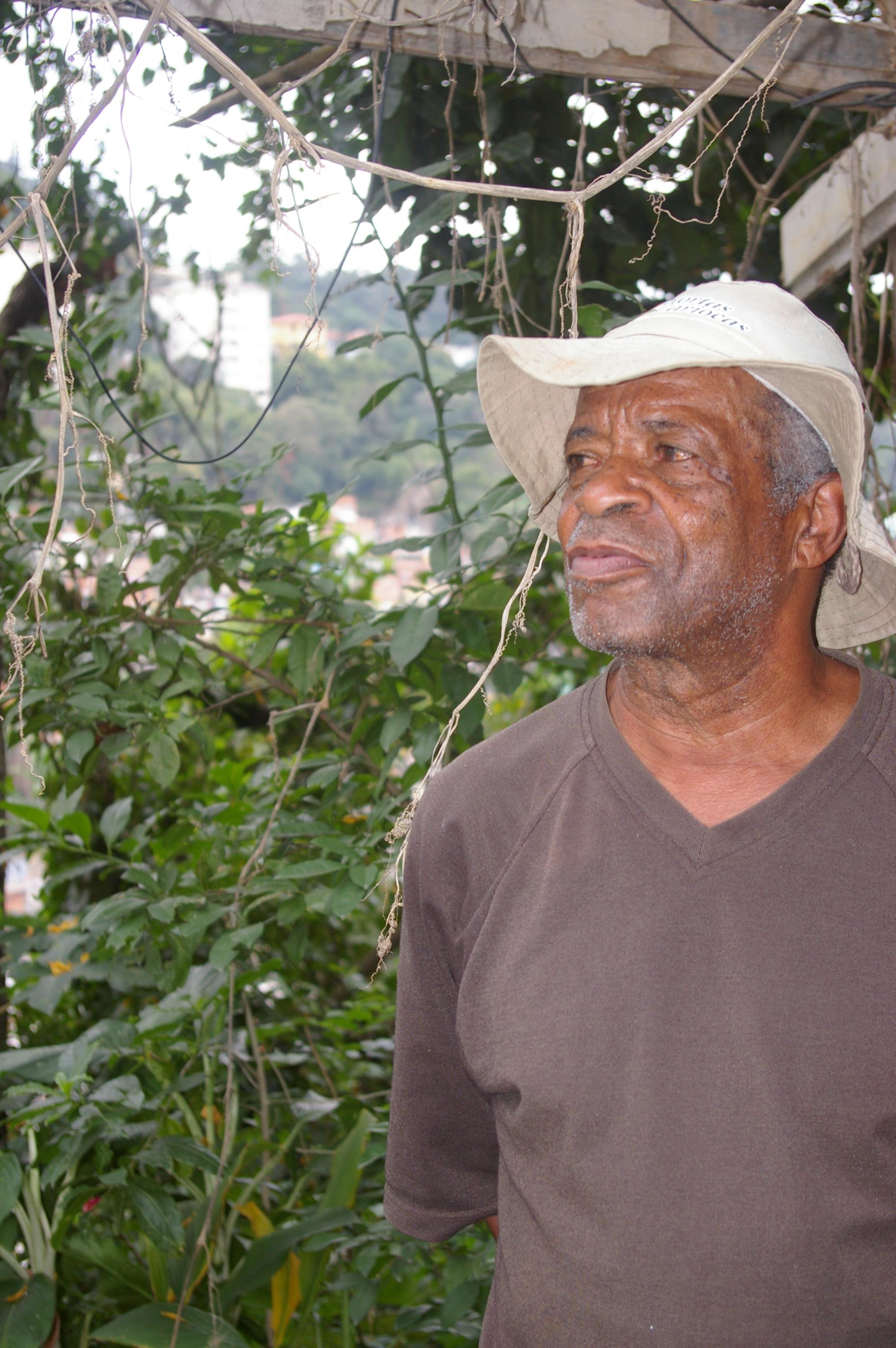 Aureo, animateur du jardin