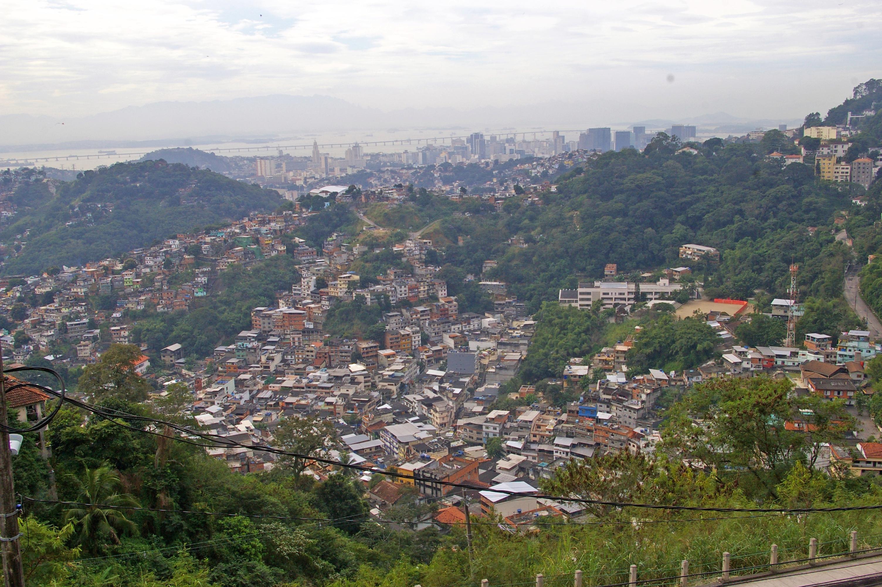 Favela Santa Teresa - Combien de délégués se sont risqué dans les ruelles des favelas où l'on ne risque plus rien ?
