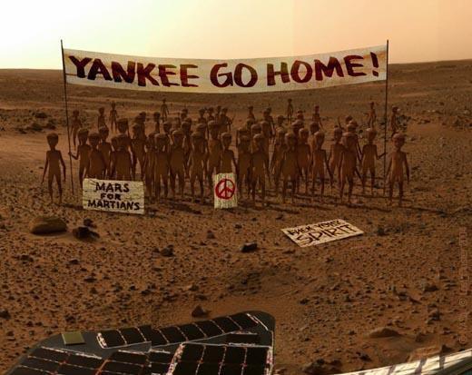 Illustration - La conquête de Mars …