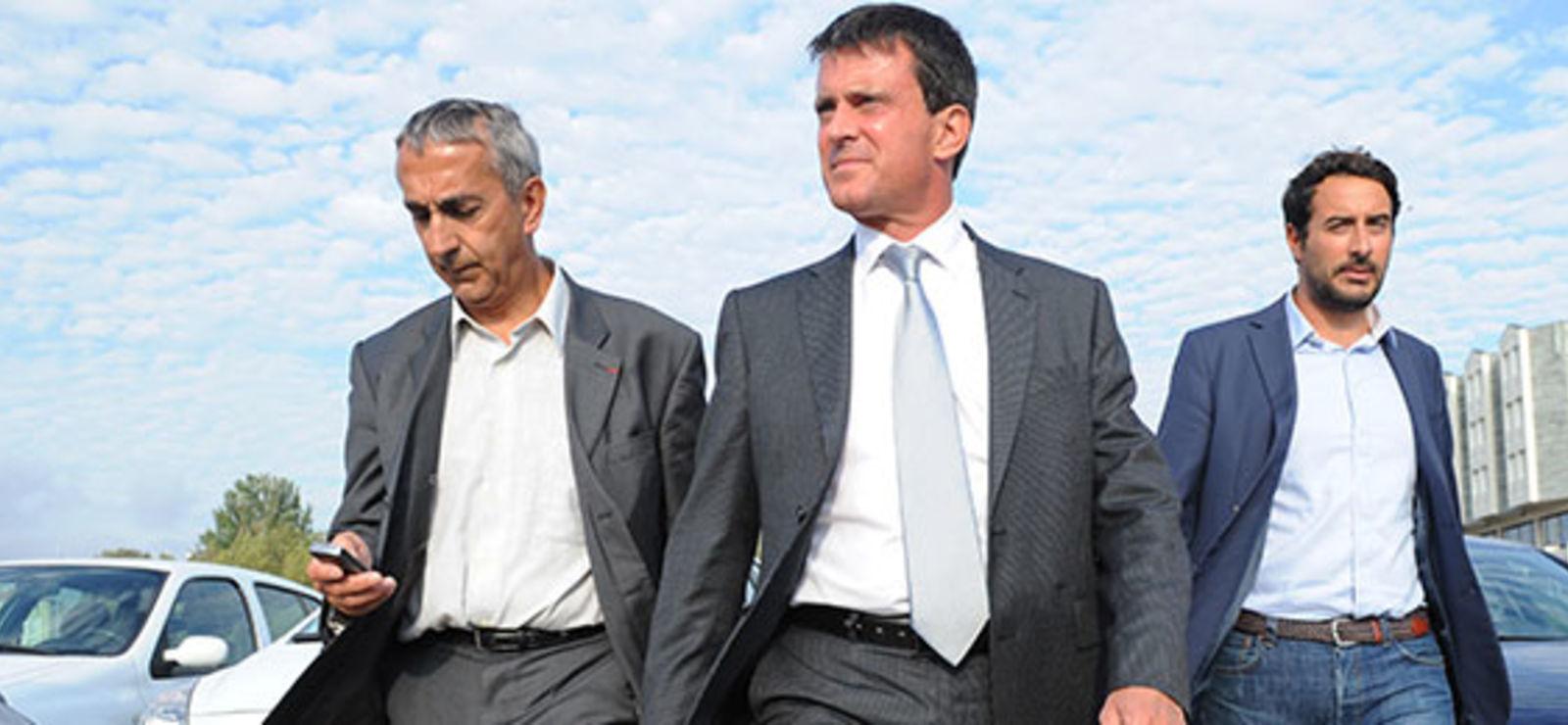 Philippe Marlière:<br>«Manuel Valls est un sarkozyste»