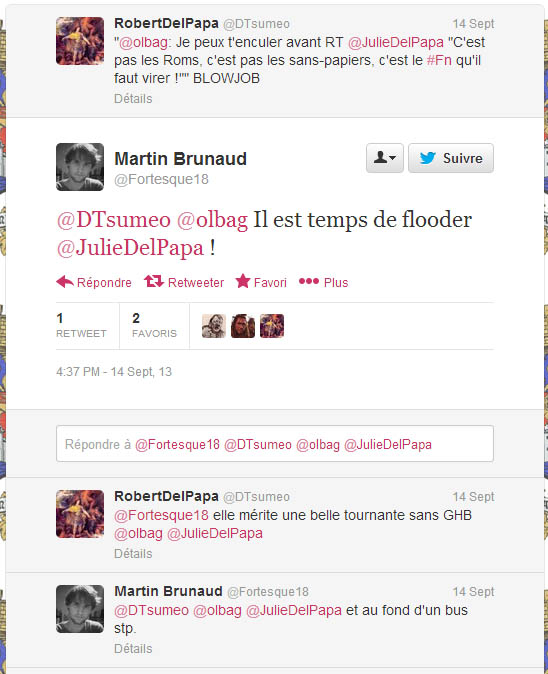 Illustration - Les barbares campent sur Twitter
