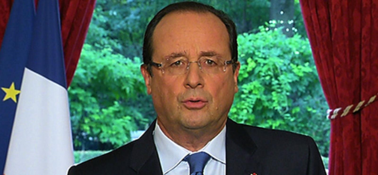 François Hollande, minable et odieux