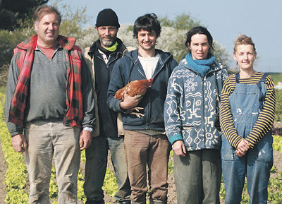 L'équipe de la ferme d'Ozon