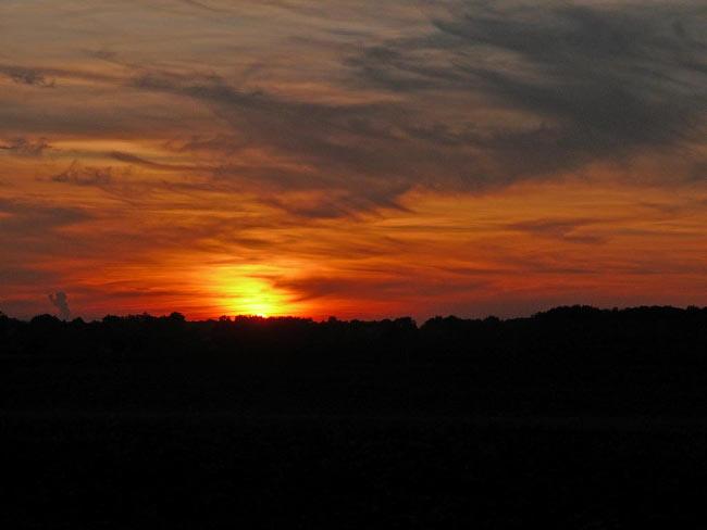 """En français, le """"crépuscule"""" désigne autant la tombée des ténèbres que la levée du soleil"""