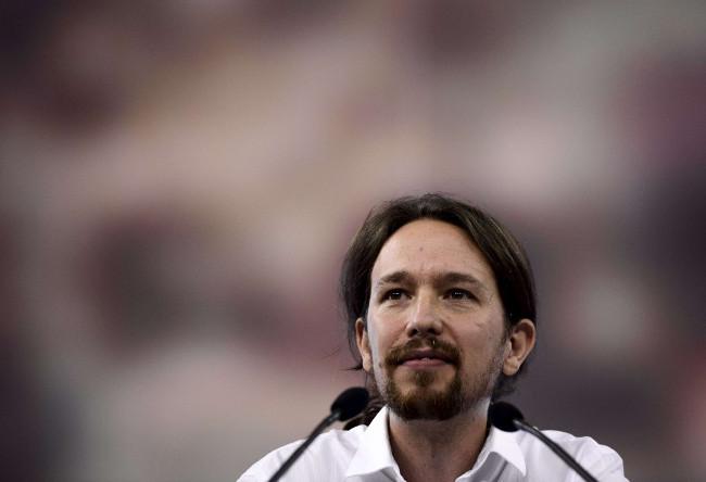 Illustration - Cadeau : la leçon de communication politique de Pablo Iglesias (Podemos) - Photo : AFP/Dani Pozo