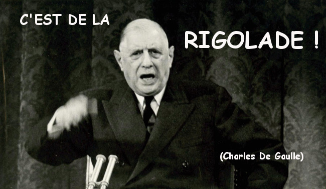 Illustration - Appartenance irrévocable à la zone euro : « C'est de la rigolade ! » (De Gaulle)