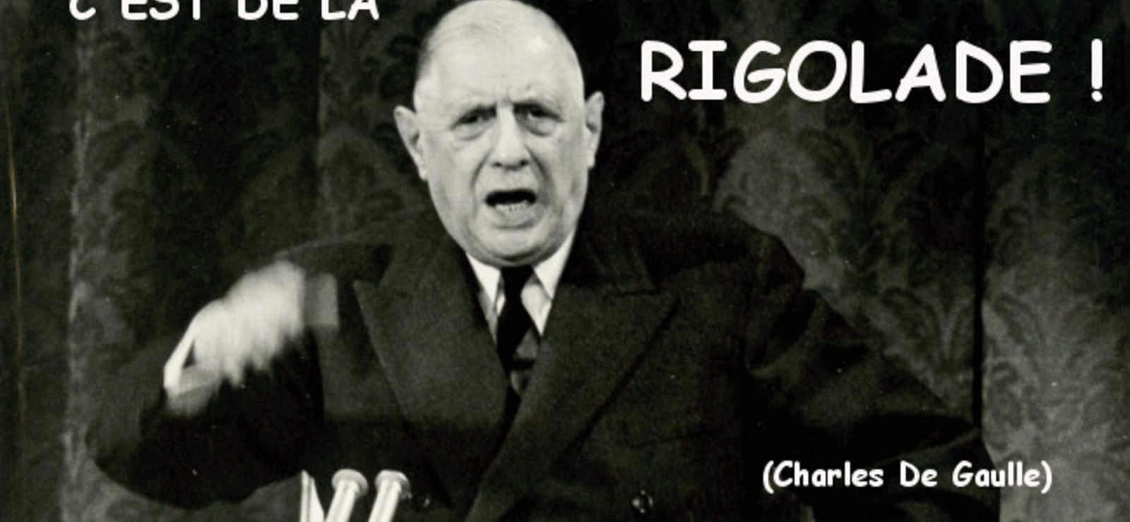 Appartenance irrévocable à la zone euro : « C'est de la rigolade ! » (De Gaulle)