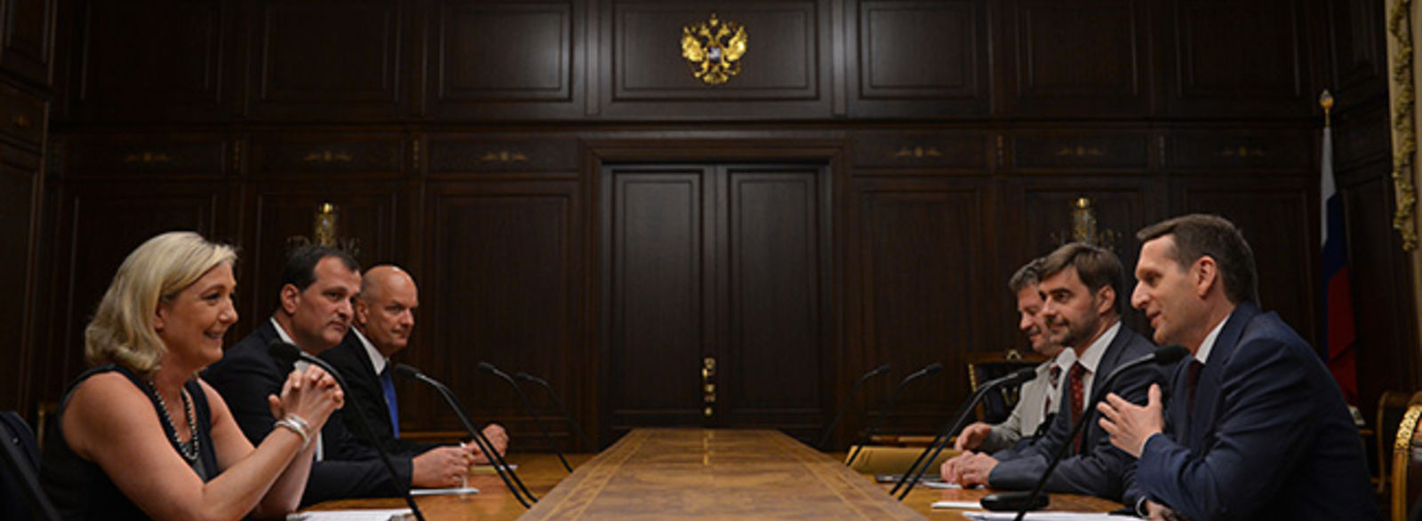 Marine Le Pen à Moscou. C'est qui maintenant les « moscoutaires » ?