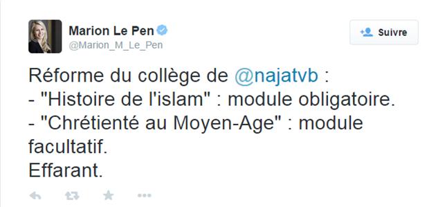 Illustration - Réforme du collège : l'enseignement du christianisme n'est pas liquidé au profit de l'islam