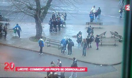 Capture d'écran du journal télévisé de France 2 du 21 janvier