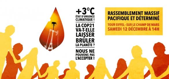 Illustration - Samedi 12 décembre, journée de désobéissance civile pour le climat