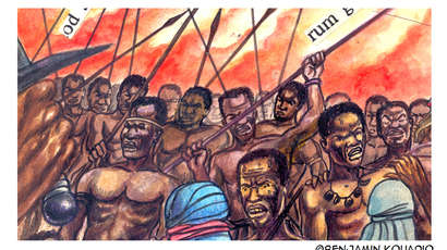 L'homme africain est sorti des cours d'histoire