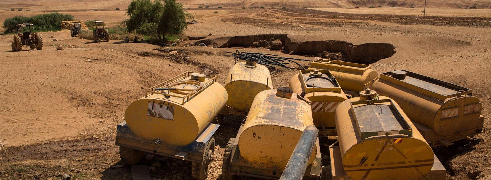 Israël/Palestine : la guerre de l'eau