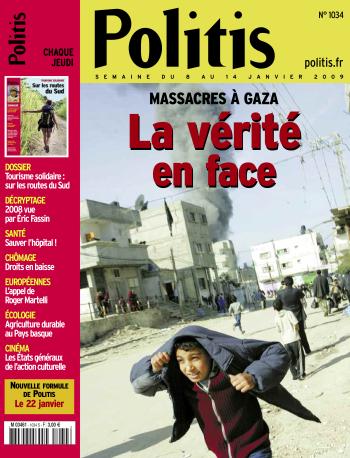 Couverture de l'Hebdo Politis N°1034