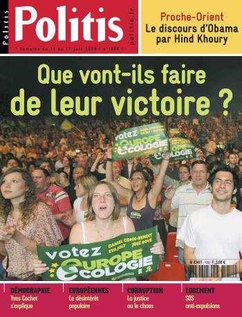 Couverture de l'Hebdo Politis N°1056
