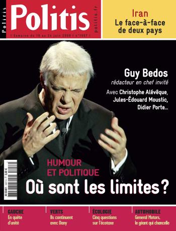 Couverture de l'Hebdo Politis N°1057