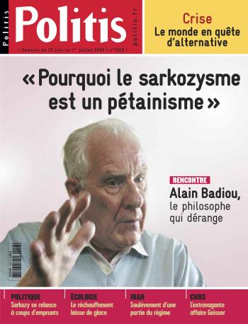 Couverture de l'Hebdo Politis N°1058
