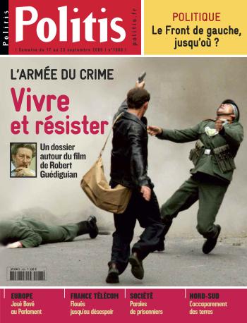 Couverture de l'Hebdo Politis N°1068