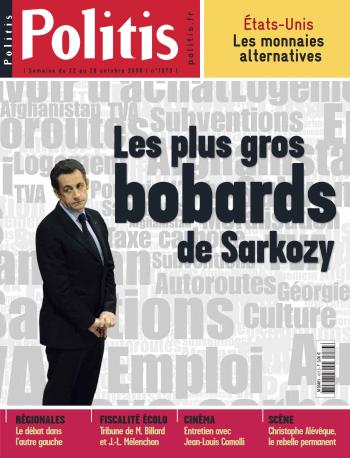 Couverture de l'Hebdo Politis N°1073