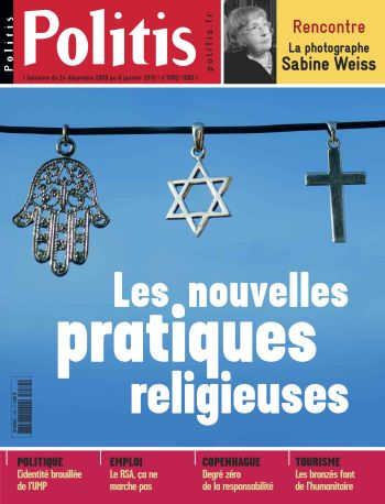 Couverture de l'Hebdo Politis N°1082-83