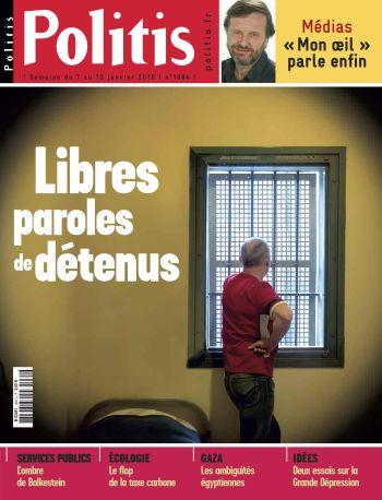 Couverture de l'Hebdo Politis N°1084