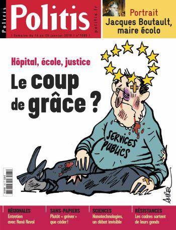 Couverture de l'Hebdo Politis N°1085