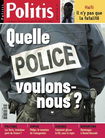 Couverture de l'Hebdo Politis N°1086