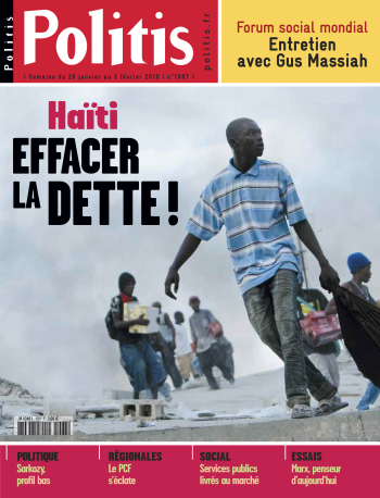 Couverture de l'Hebdo Politis N°1087