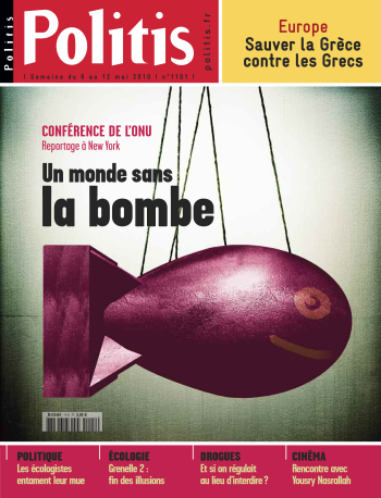 Couverture de l'Hebdo Politis N°1101