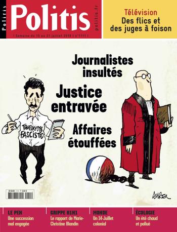 Couverture de l'Hebdo Politis N°1111