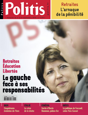 Couverture de l'Hebdo Politis N°1116