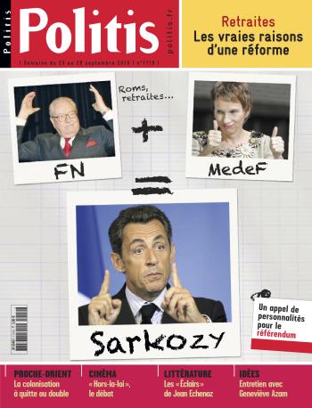 Couverture de l'Hebdo Politis N°1119
