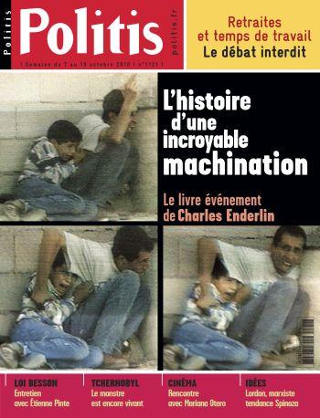 Couverture de l'Hebdo Politis N°1121